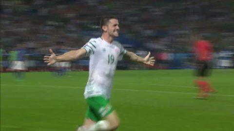 Höjdpunkter: Irland segrade mot Italien - knep sista åttondelsplatsen