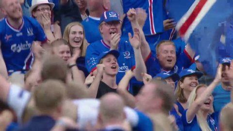 Höjdpunkter: Island skrällde efter segern mot Österrike
