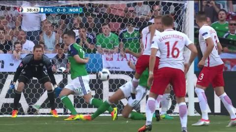 Höjdpunkter: Milik spräckte nollan - blev matchhjälte för Polen