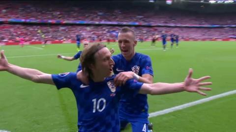Höjdpunkter: Modric sänkte Turkiet med en fantastisk pärla