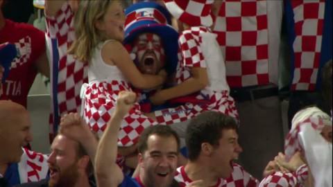 Höjdpunkter: Perisics sena 2-1-avgörande chockade Spanien