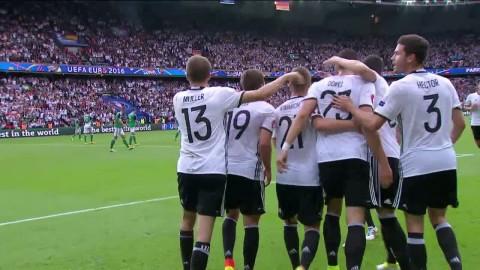 Höjdpunkter: Tyskland vinner gruppen efter segern mot Nordirland