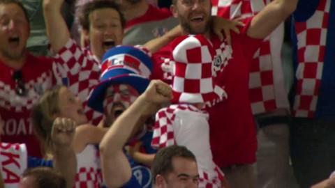 Kroatien gör 2-1