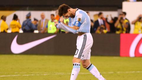 Messis chockbesked efter förlusten