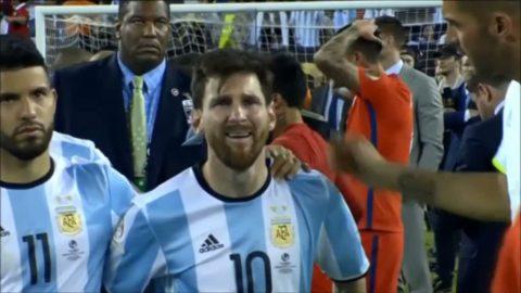 Messis tårar efter finalförlusten - nu är det slut i landslaget