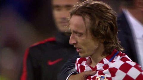 Modric i tårar efter tunga förlusten