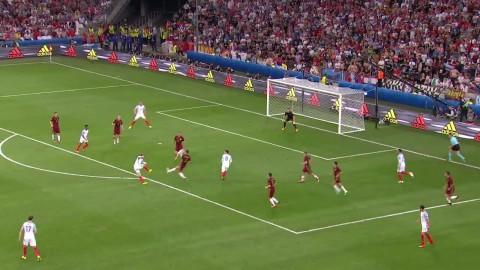 Rooney nära sätta ledningsmål