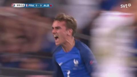Sport - Se målet som räddar Frankrike –  Griezmann nickar in 1–0