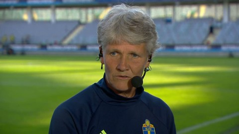 Sundhage efter Sveriges 6-0-kross