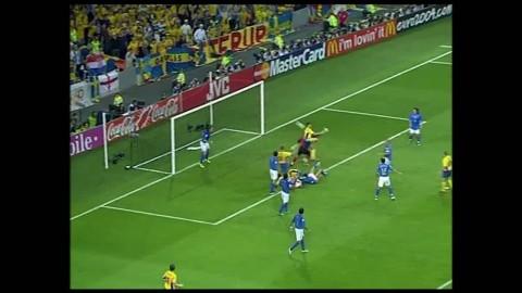 Sveriges Italien-matcher på 2000-talet - se Zlatans klackmål