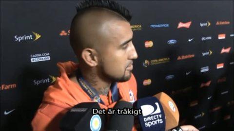 """Vidal om Messis besked: """"Tråkigt för fotbollen överlag"""""""