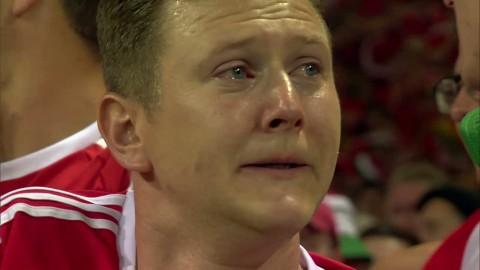 Walsisk supporter rörd till tårar