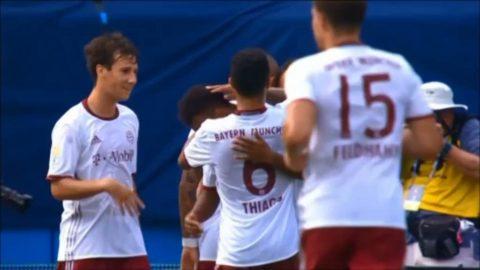 21-åringen hattrick-hjälte när Bayern München körde över Inter