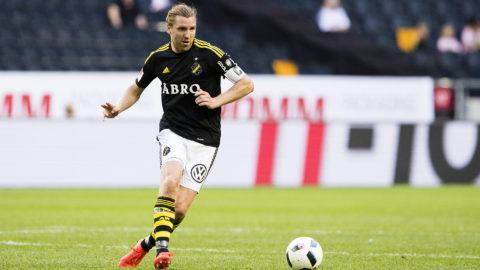 """AIK-kaptenen inför EL-mötet: """"Härlig atmosfär inom truppen"""""""