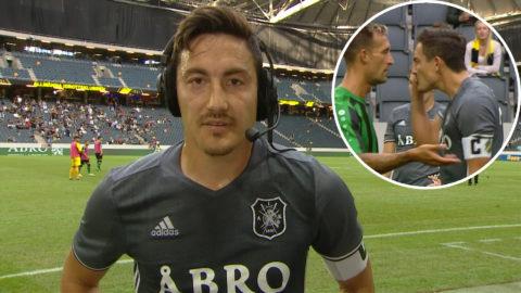 """AIK-stjärnan rasande i paus: """"Då är min karriär över"""""""