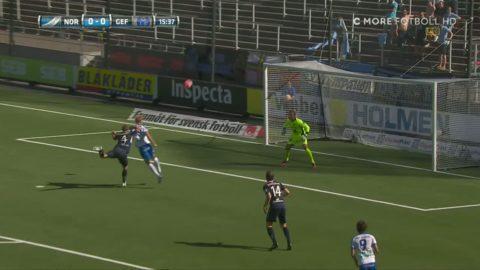 Andersson nickar över ribban för Norrköping