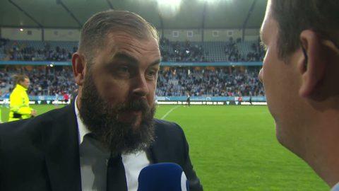 """Axén om underlaget: """"Vi är inte 100 på gräset"""""""