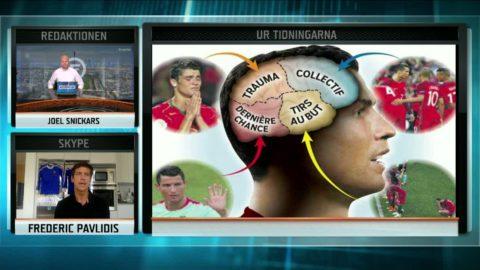 Den stora stjärnduellen - pressen på Ronaldo