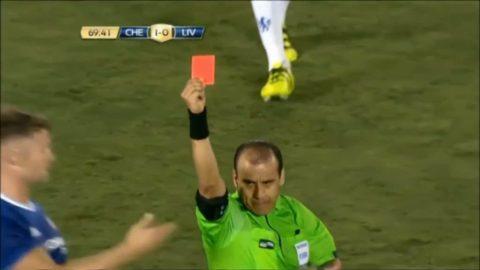 Fabregas utvisad när Chelsea slog Liverpool