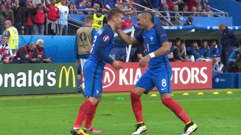 Höjdpunkter: Fransk seger mot ett tappert Island