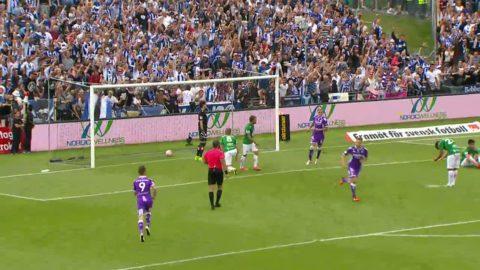 Höjdpunkter: Hysén räddade IFK Göteborg med sent kvitteringsmål