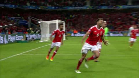 Höjdpunkter: Wales skräll ett faktum - vinst mot Belgien