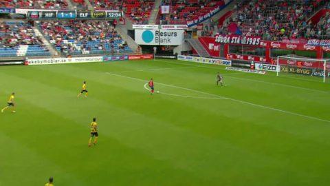 Jordan Larsson bränner friläge mot Elfsborg