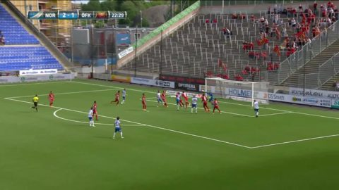 Norrköping tar ledningen med 2-1