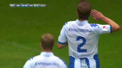Salomonsson trycker in 2-0 för Blåvitt