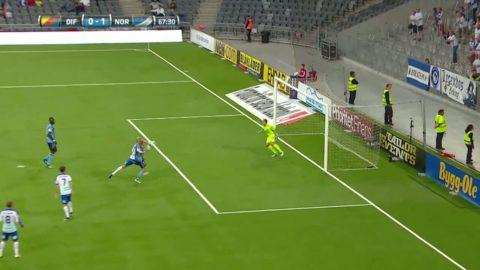 Sebastian Andersson gör mål mot gamla klubben