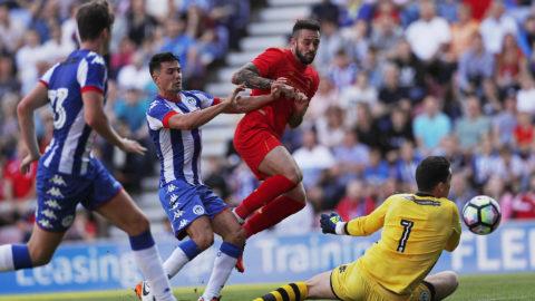 TV: Vinst för Liverpool efter sena mål
