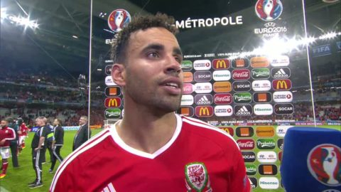 Wales-hjälten om Cruyff-finten innan 2-1-målet
