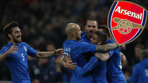 Arsenals nya transfermål - italiensk landslagsman?