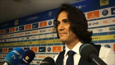 """Cavani: """"Det som betyder något är att laget vinner"""""""