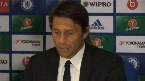 """Conte: """"Vill tacka Chelsea-fansen för stödet"""""""