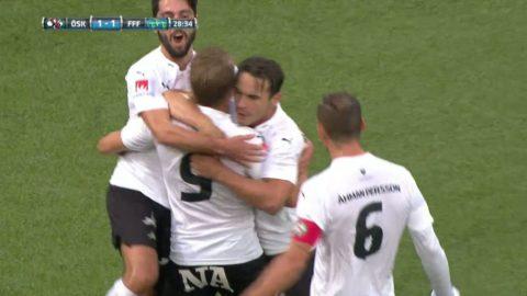 Gerzic görde ett snygg mål för Örebro