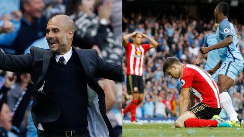 Guardiola räddad - av förre United-spelaren