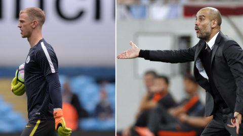 """Guardiola: """"Ska inte stanna om han inte vill"""""""