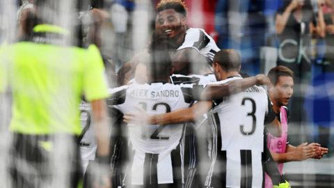 Higuain byttes in - då gjorde Juventus mål direkt
