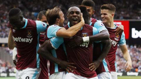 Historisk seger för West Ham på nya arenan