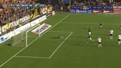 Höjdpunkter: AIK har häng på guldstriden efter vinst mot ÖSK