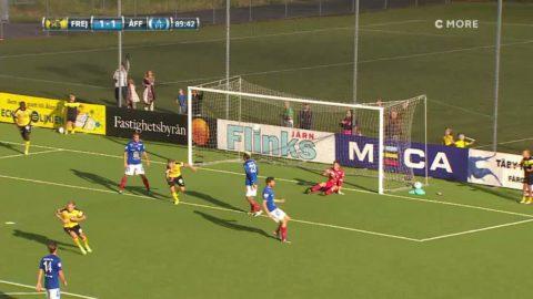 Höjdpunkter: Frej vann efter sent segermål mot Åtvidabergs