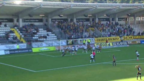 Höjdpunkter: Häcken snuvade på mål när Örebro vann