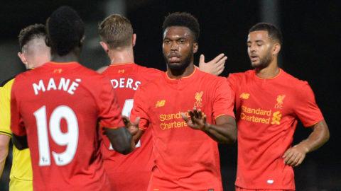 Liverpool vidare i EFL efter kross på bortaplan