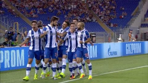 Mål (0-1): Porto just nu i CL efter ledningsmål i Rom