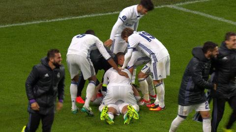 Mål: Carvajal säkrar segern för Real Madrid (3-2)