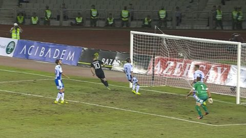 MÅL: Qarabag är förbi på resultattavlan - dundrar in 2-0 mot Blåvitt