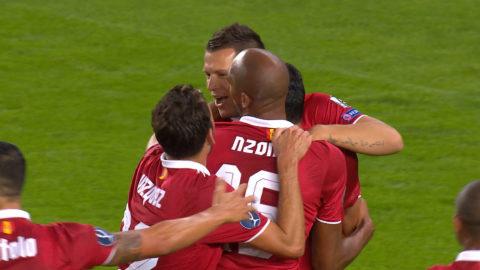 Mål: Sevilla tar ledningen - Konoplyanka nätar på straff (1-2)