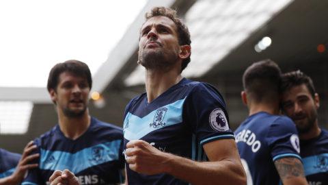 Middlesbrough med vackert klapp-klapp-spel - Stuani tvåmålsskytt