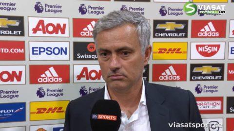 """Mourinho: """"Är desperat - då får spelarna chansen de förtjänar"""""""